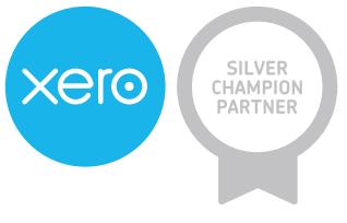 Xero silver champion logo